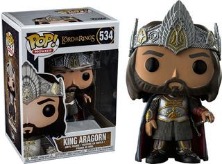 Funko Pop! Rey Aragorn 534 - Giro Didáctico