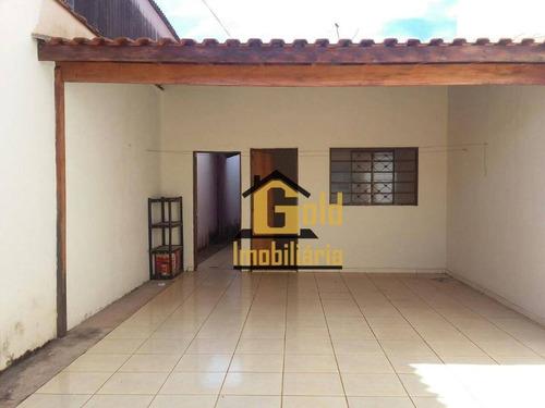 Casa Com 2 Dormitórios À Venda, 80 M² Por R$ 200.000,00 - Recreio Anhangüera - Ribeirão Preto/sp - Ca0165