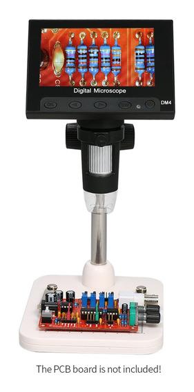 Microscopio Led Digital Portátil 1000x 4.3 720p