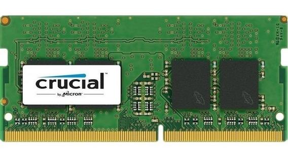 Memoria Sodimm Ddr4 4gb Crucial