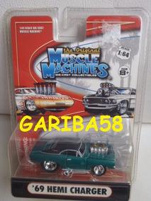 R$45 No Lote Muscle Machines ´69 Hemi Charger 2005 Gariba58