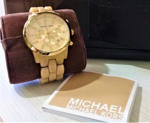 Relógio Michael Kors Mk5217 Madrepérola 100% Original