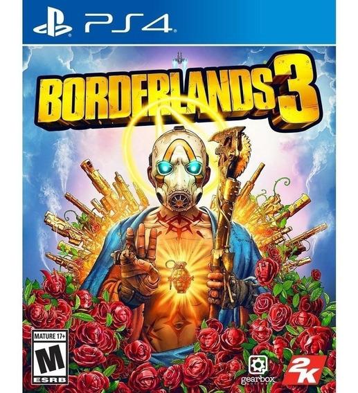 Ps4 - Borderlands 3 - Novo Lacrado - Mídia Física C/ Nota