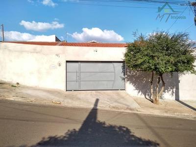 Casa Residencial Para Venda E Locação, Jardim Macarenko, Sumaré. - Ca0645