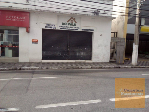 Imagem 1 de 16 de Ponto Para Alugar, 200 M² Por R$ 7.500,00/mês - Centro - Jacareí/sp - Pt0256