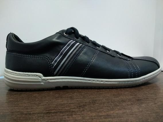 Zapatillas Zurich Negro 3701 Vestir Hombre