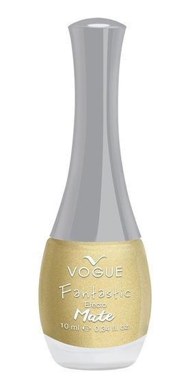 Esmalte Uñas Mate Fantastic Vogue Secado Rapido