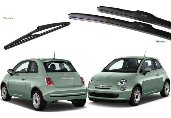 Kit Palheta Limpador Fiat 500 2012 2013 2014 2015 2016 2017