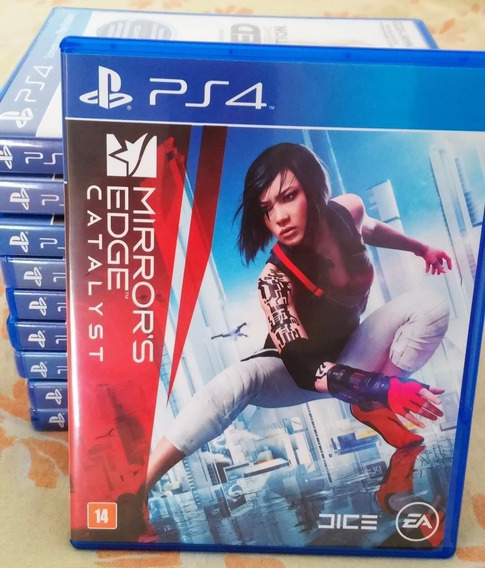 Mirrors Edge Catalyst Ps4 Mídia Física Português