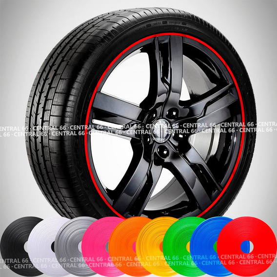 Friso Chevrolet Onix Refletivo Adesivo Roda Filete Cores