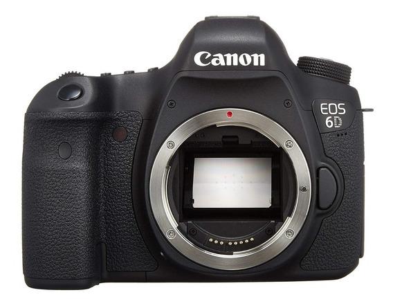 Canon 6d Fullframe, Wifi + Extreme 32gb Garantia 2 Anos