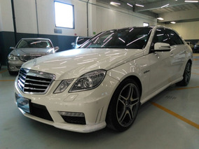 Mercedes Benz E63 Amg 2011 Blanco