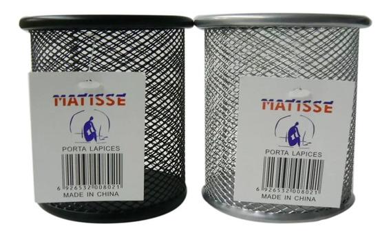 Portalapices Locto/matisse Alambre Negro/color (7961)