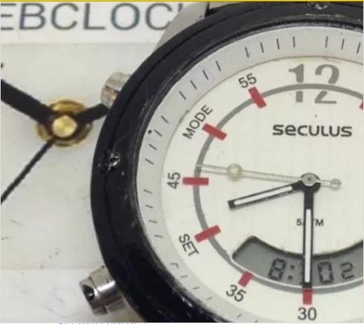 Relógio De Pulso Seculus Masculino T09460 Webclock