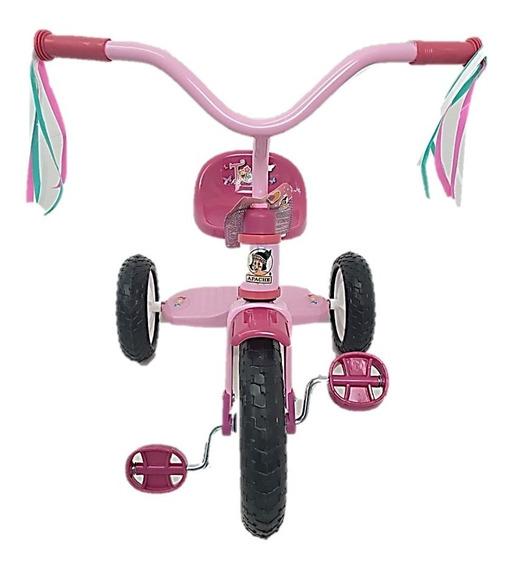 Triciclo Para Niña Trixie Apachito Rodada 10