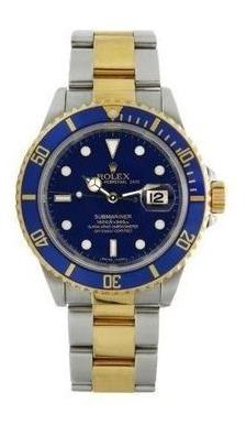 Rolex Submariner 2010 Azul Misto Todos Certificados