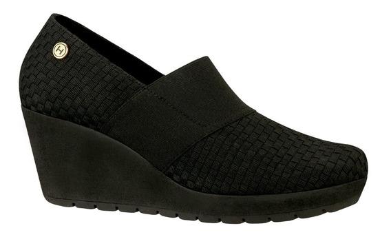 Hispana Zapatos Tacon Cuña Comodos Confort Casual 2512061