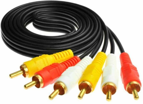 Cable 3 Rca A 3 Rca Macho 1,8 Mts Audio Video Titan Belgrano