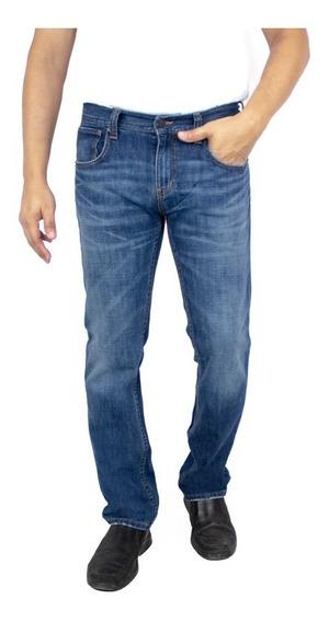 Jeans Breton De Mezclilla Slim Fit. Estilo Bjm022