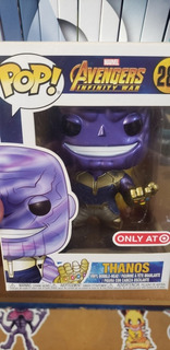 Funko Pop 289 Thanos Exclusivo Metálico.