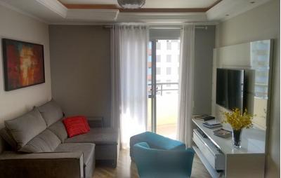 Apartamento Em Tatuapé, São Paulo/sp De 67m² 2 Quartos À Venda Por R$ 375.000,00 - Ap90627
