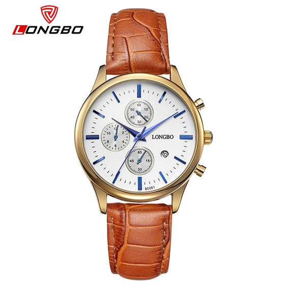 Relógio Unissex Luxo Quartzo Couro Frete Grátis Promoção