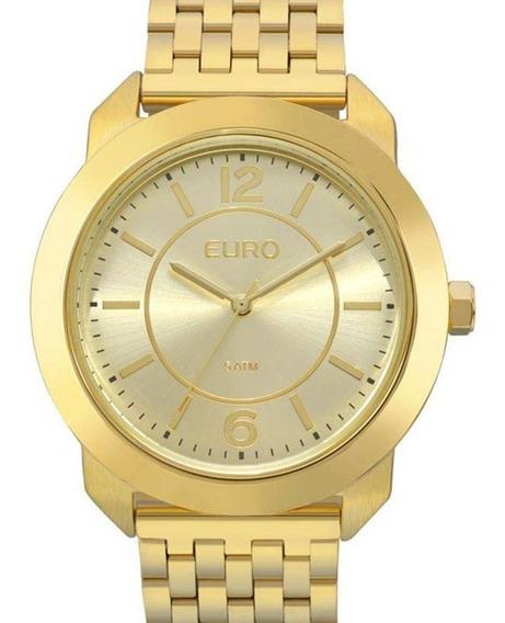 Relógio Euro Feminino Dourado Eu2035ylf/4d - ( Nota Fiscal )