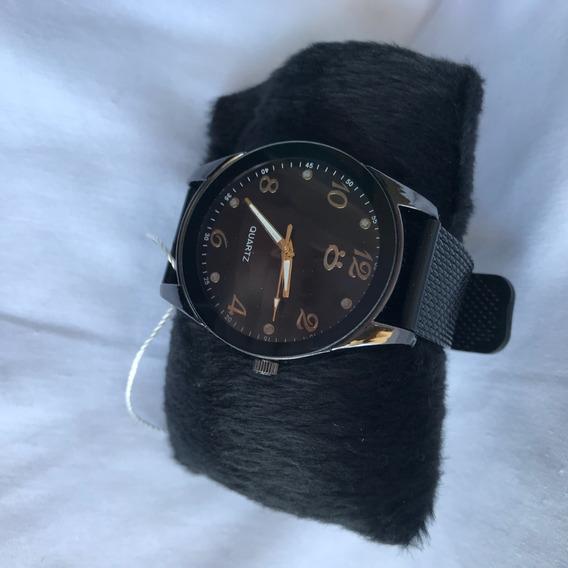 Relógio Feminino Quartz Preto
