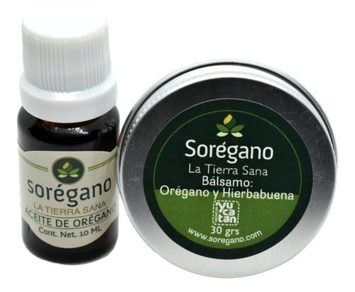 Aceite Esencial De Orégano Y Bálsamo Reparador Sorégano