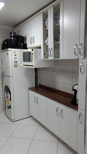 Imagem 1 de 13 de Apartamento 54m 2 Dormitorios 1 V Jd Alvorada Santo André