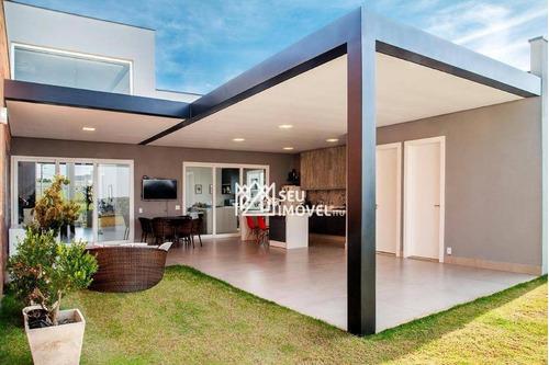 Casa Com 4 Dormitórios À Venda, 380 M² Por R$ 2.350.000,00 - Condomínio Parque Ytu Xapada - Itu/sp - Ca0007