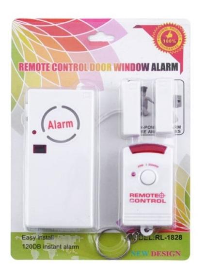 Alarme Residencial Comercial Porta Janela Sem Fio Controle