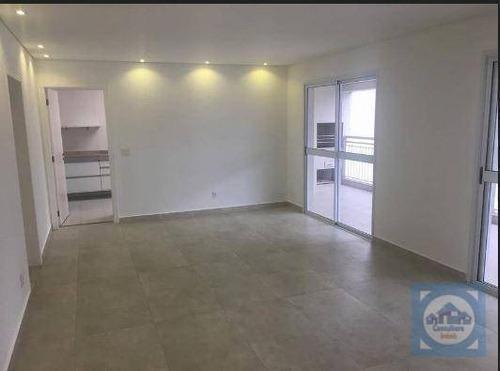 Apartamento Com 3 Dormitórios Para Alugar, 175 M² Por R$ 8.000,00/mês - Gonzaga - Santos/sp - Ap5915