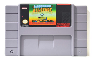 Mario All Stars + Mario World Snes Superninten Repro Videojuegos Rock