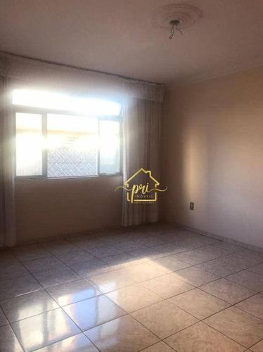 Imagem 1 de 17 de Apartamento Com 2 Dormitórios À Venda, 125 M² Por R$ 280.000,00 - Aparecida - Santos/sp - Ap1913