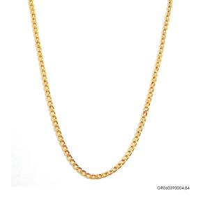 Corrente Groumet Masculina Ouro 18k Gro60390004,84