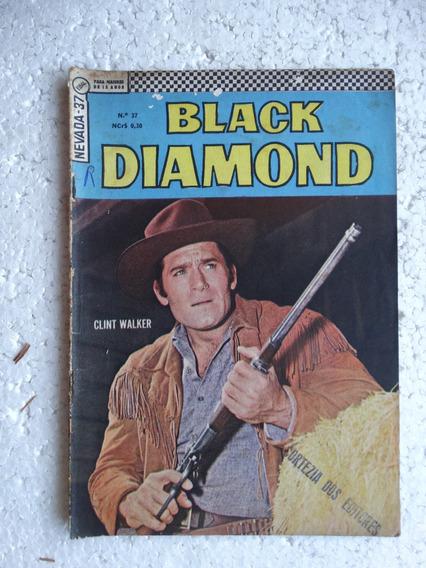 Nevada Nº 37! 2ª Série! Black Diamond! Ebal Jul 1967