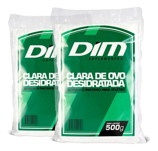 Albumina Dim - Proteína Clara Do Ovo - Chocolate - 500g