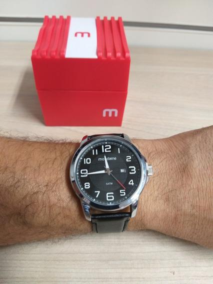 Relógios Masculinos Pulseira De Couro Com Calendário