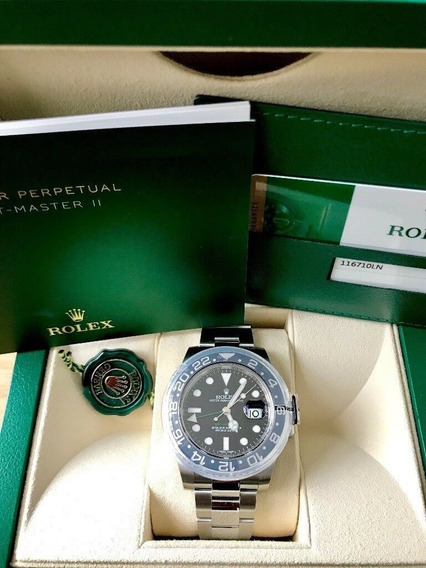 Rolex Gmt Master Ii 2018 Novissímo