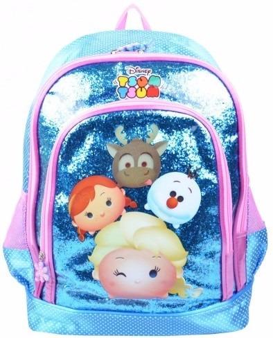 Mochila Escolar Infantil Luxcel Tsum Tsum Is31941ts