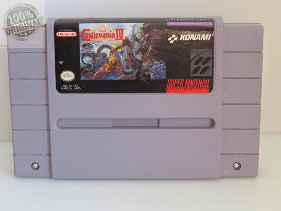 Ref. 64 Super Castlevania Original Snes Super Nintendo