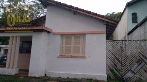 Imagem 1 de 9 de Chácara Com 3 Dormitórios À Venda, 500 M² Por R$ 320.000 - Pouso Alegre - Ribeirão Pires/sp - Ch0050
