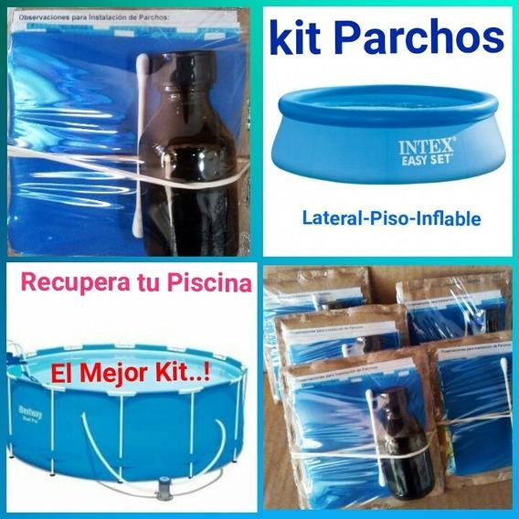 Recupera Tu Piscina Intex Bestway - 6 Parchos Incluye Pega