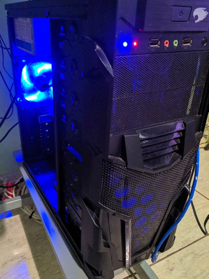 Computador Gamer G-fire Amd A6 7400k Placa De Vídeo Gt 1030