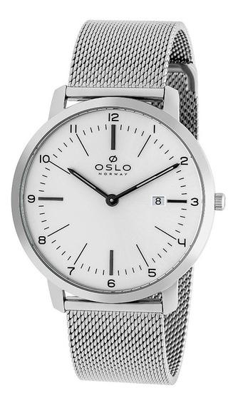 Relógio Oslo Ombsss9u0008 + Garantia De 1 Ano + Nf