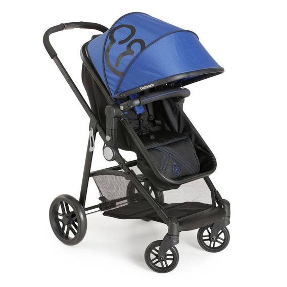 Carrinho De Bebê Galzerano Gero Preto/azul 1050pta