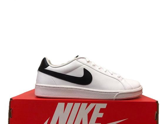Tênis Nike Court Majestic Leather Branco E Preto Original