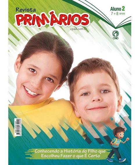 Revista Escola Bíblica Primários - 2º Tri / 2019 - Aluno