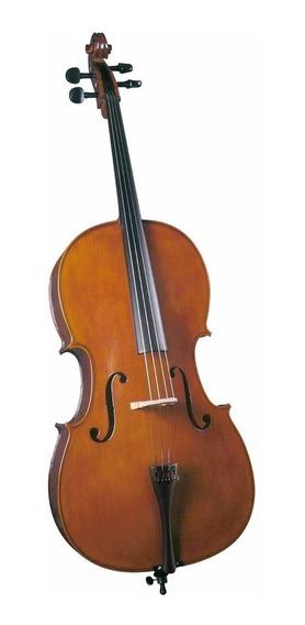 Cello Cremona Sc-175 4/4 Estudio Superior Pino Y Maple